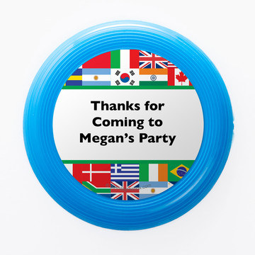 International Personalized Mini Discs (Set of 12)