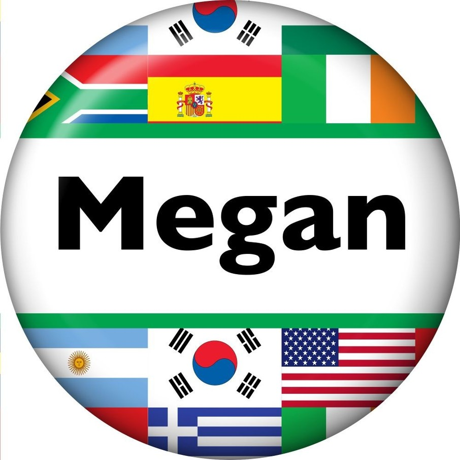 View larger image of International Personalized Mini Magnet (Each)