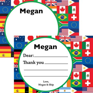 International Personalized Thank You (Each)