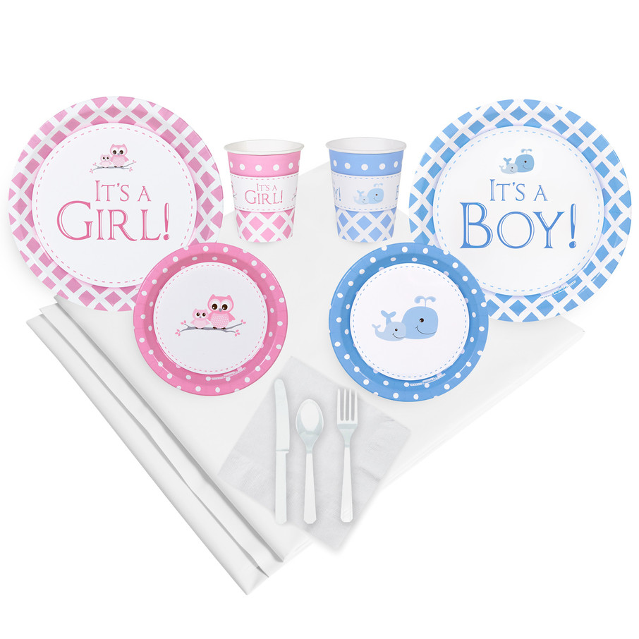 View larger image of It's a Boy or Girl Party Pack (For 16 Guests)
