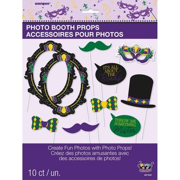 Jazzy Mardi Gras Photo Booth Props