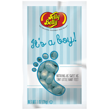 Jelly Belly It's a Boy Blue Jelly Beans 1 oz Bag (Each)