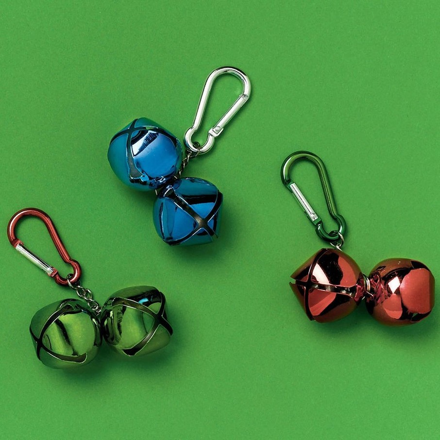 View larger image of Jingle Bell Backpack Clip (Each)