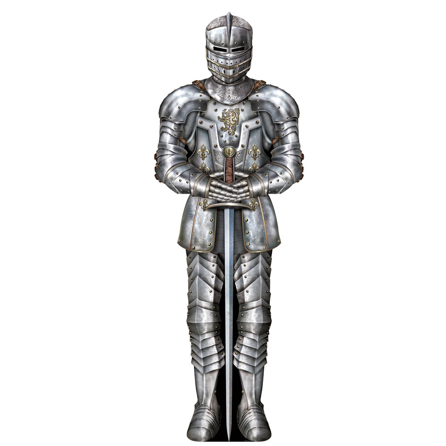 View larger image of Jointed Suit of Armor Cutout
