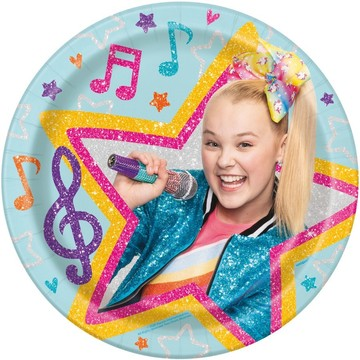 JoJo Siwa Lunch Plates (8)