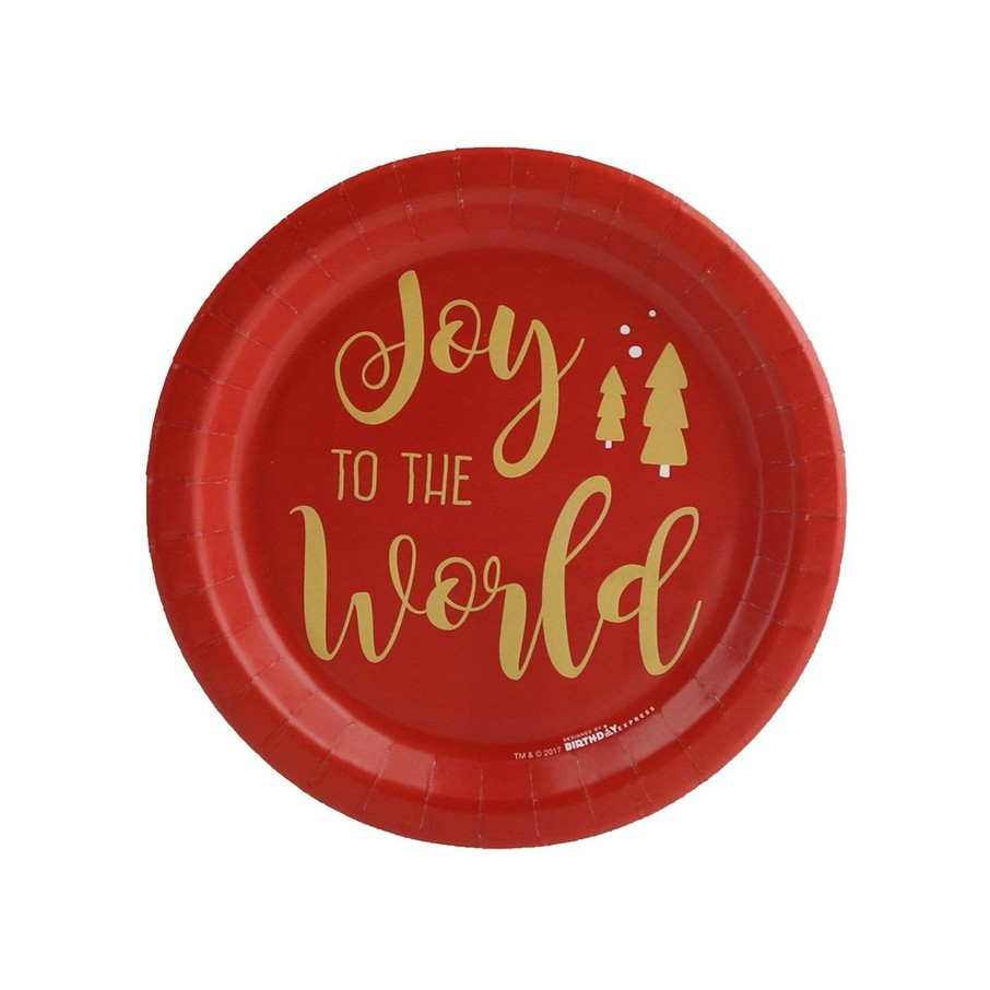 View larger image of Joy to the World Dessert Plate (8)