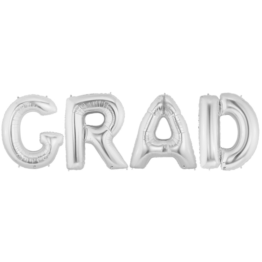 View larger image of Jumbo Silver Foil-GRAD