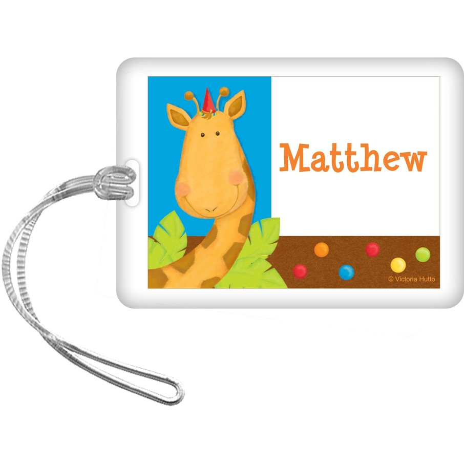 View larger image of Jungle Birthday Personalized Bag Tag (each)