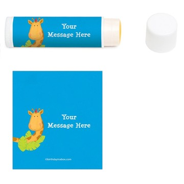 Jungle Birthday Personalized Lip Balm (12 Pack)