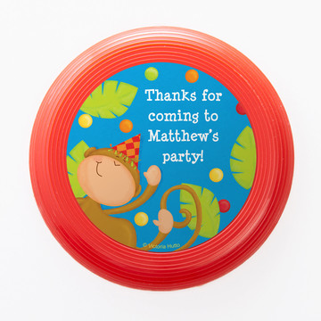 Jungle Birthday Personalized Mini Discs (Set of 12)