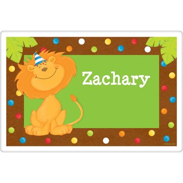 Jungle Birthday Personalized Placemat (each)