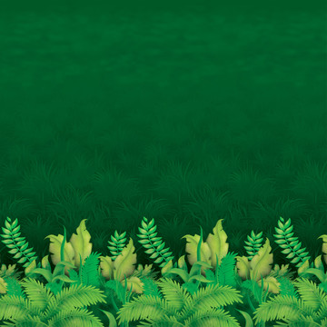 Jungle Foliage Backdrop