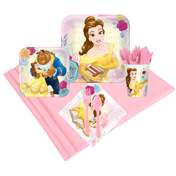 Disney Beauty and the Beast 16 Guest Party Pack