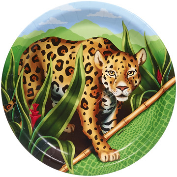 Jungle Party Dinner Plates (8)