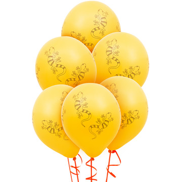 Jungle Party Latex Balloons (6)