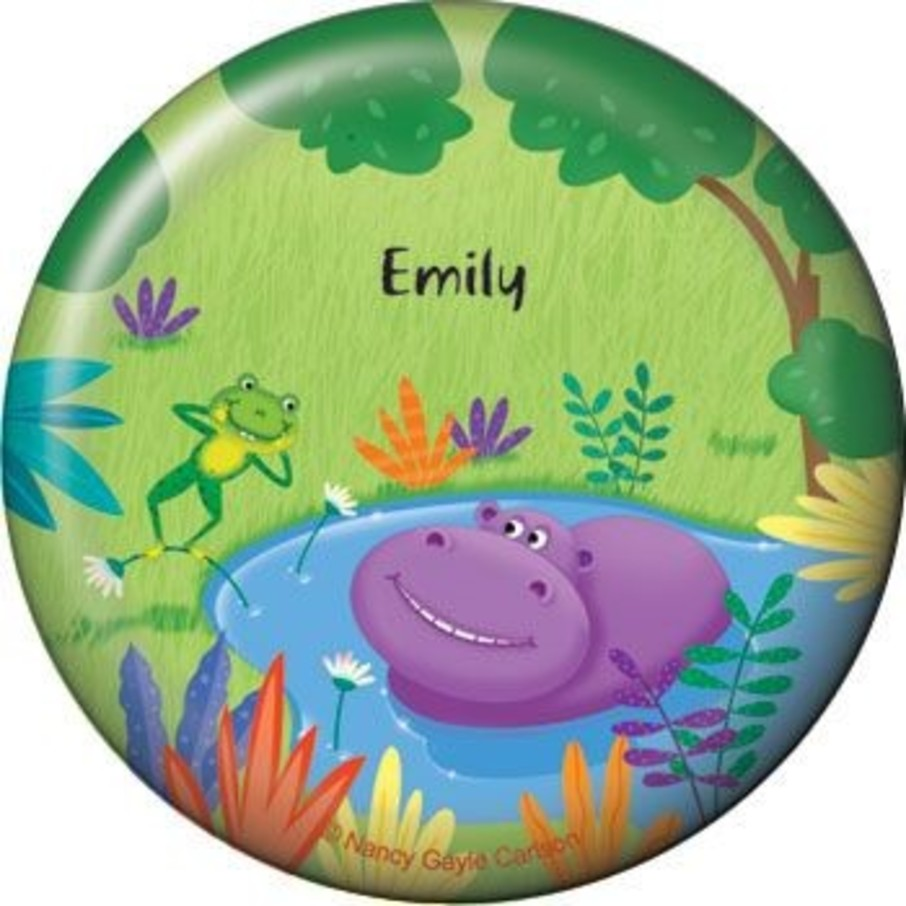 View larger image of Jungle Party Personalized Button (each)