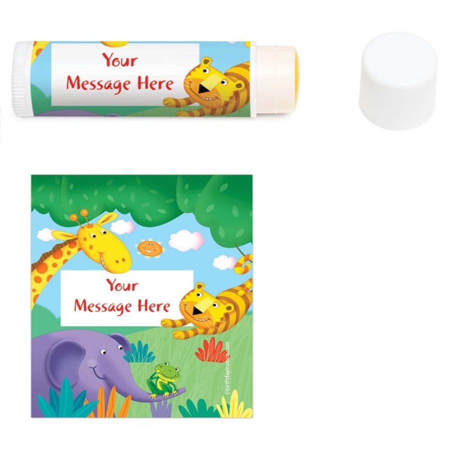 View larger image of Jungle Party Personalized Lip Balm (12 Pack)