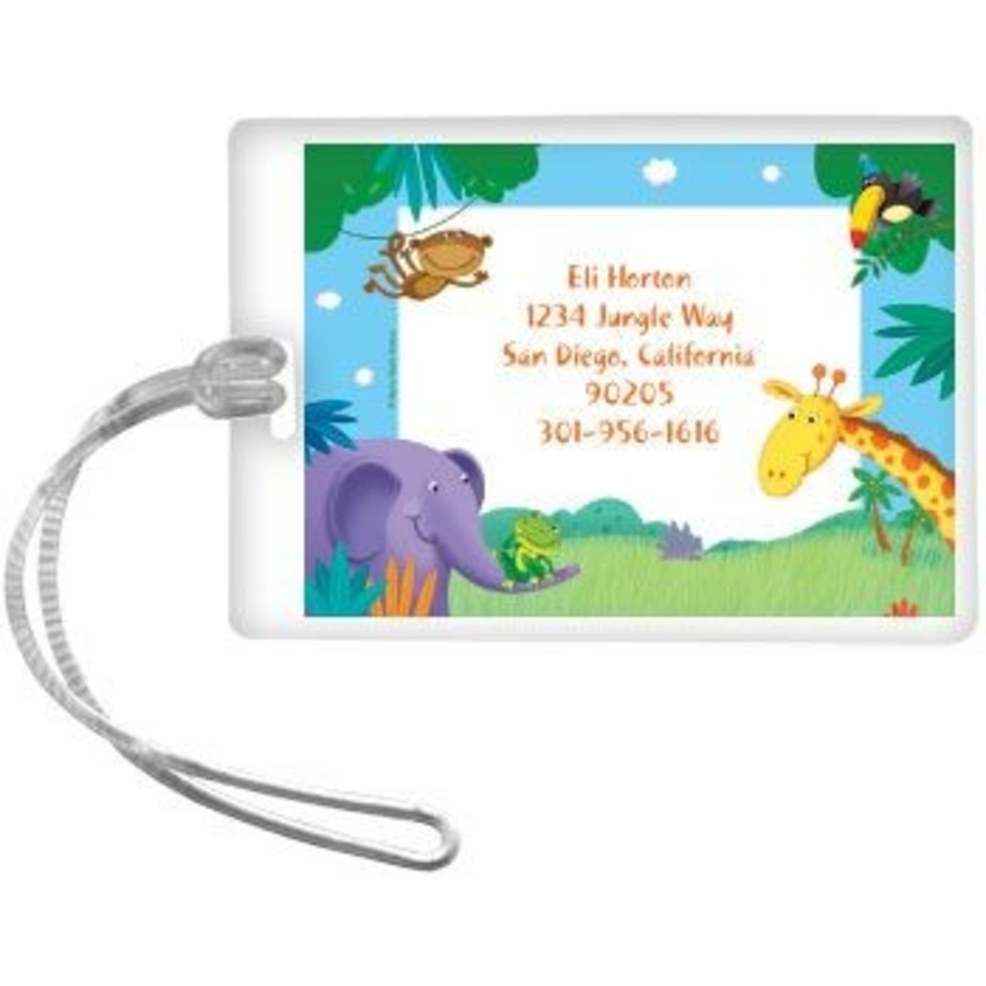 View larger image of Jungle Party Personalized Luggage Tag (each)