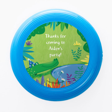 Jungle Party Personalized Mini Discs (Set of 12)
