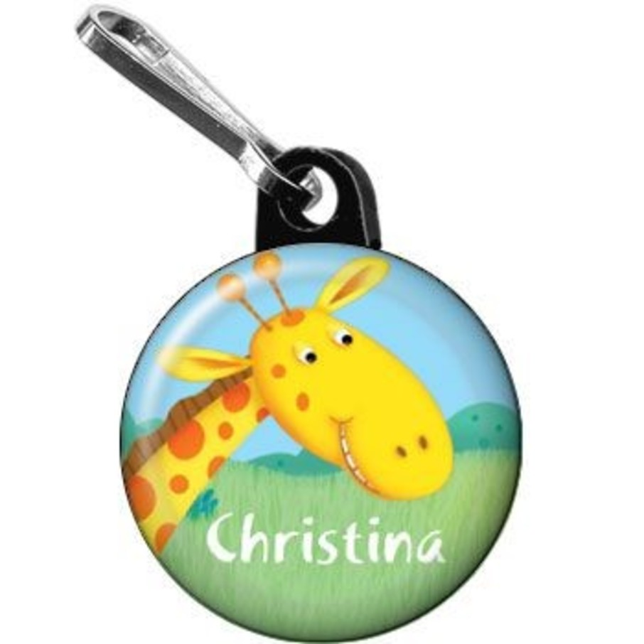 View larger image of Jungle Party Personalized Mini Zipper Pull (each)