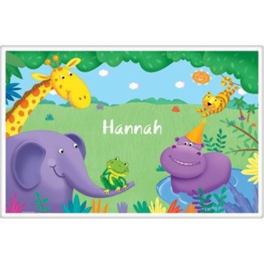 View larger image of Jungle Party Personalized Placemat (each)