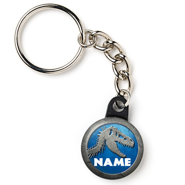 "Jurassic Personalized 1"" Mini Key Chain (Each)"