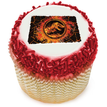 Jurassic World 2 Edible Cupcake Topper (12 Images)