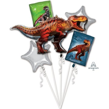 Jurassic World Foil Balloon Bouquet