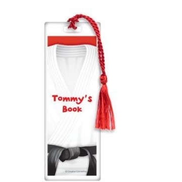 Karate Personalized Bookmark (each)