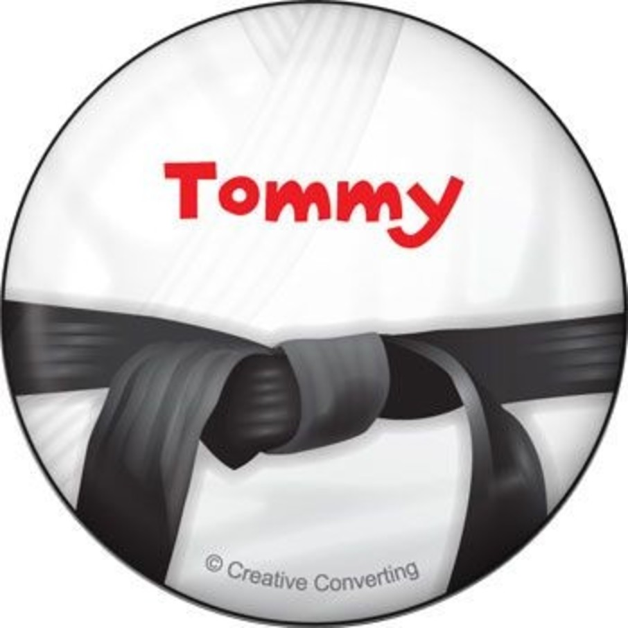 View larger image of Karate Personalized Button (each)