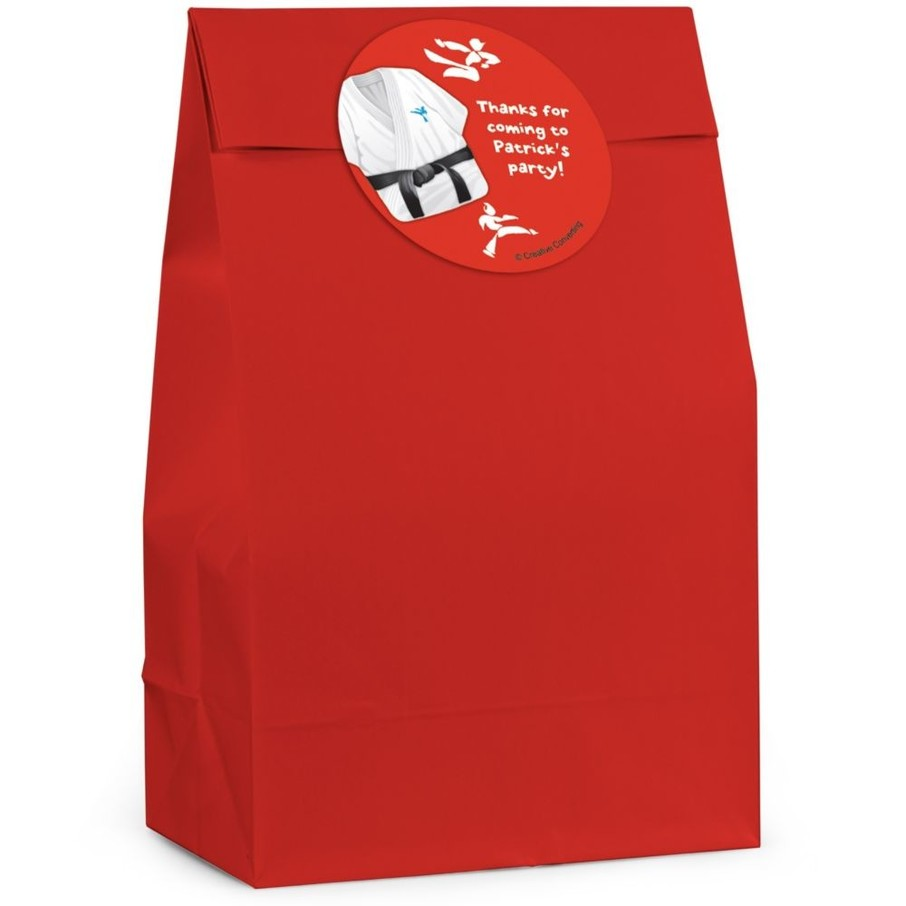 View larger image of Karate Personalized Favor Bag (Set Of 12)