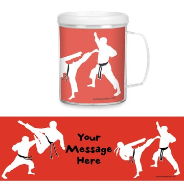 Karate Personalized Favor Mugs (Each)