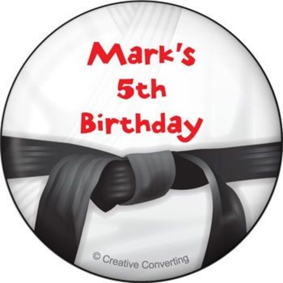 View larger image of Karate Personalized Magnet (each)