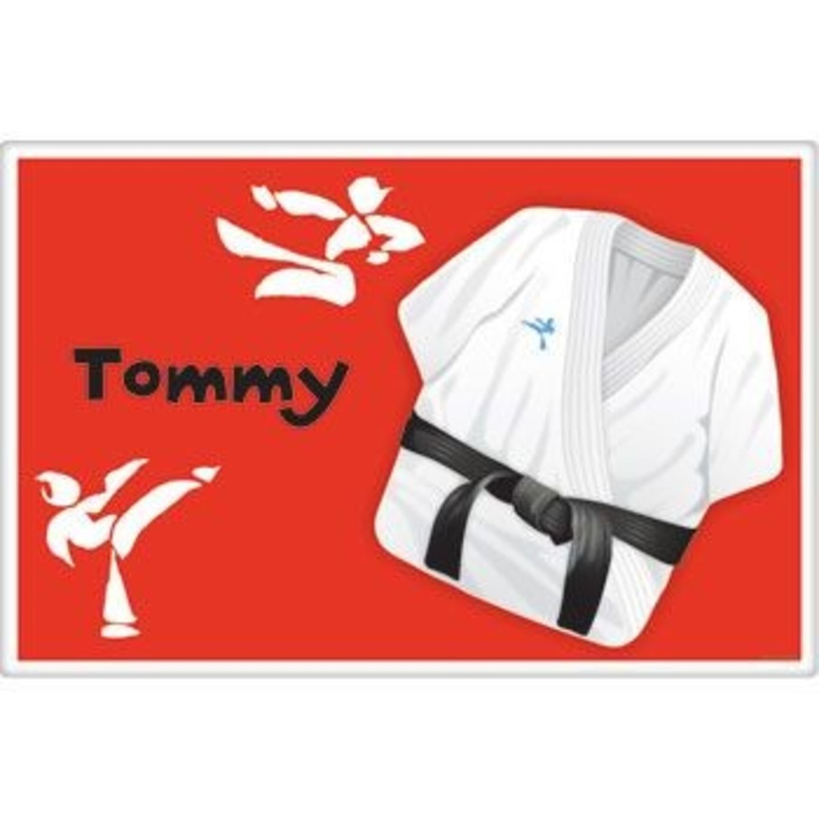 View larger image of Karate Personalized Placemat (each)