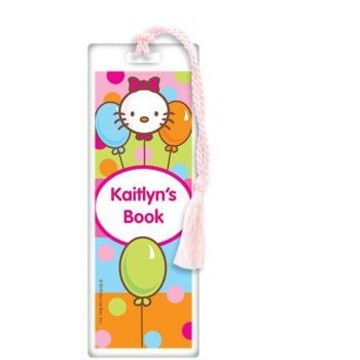 Kitty Personalized Bookmark (each)