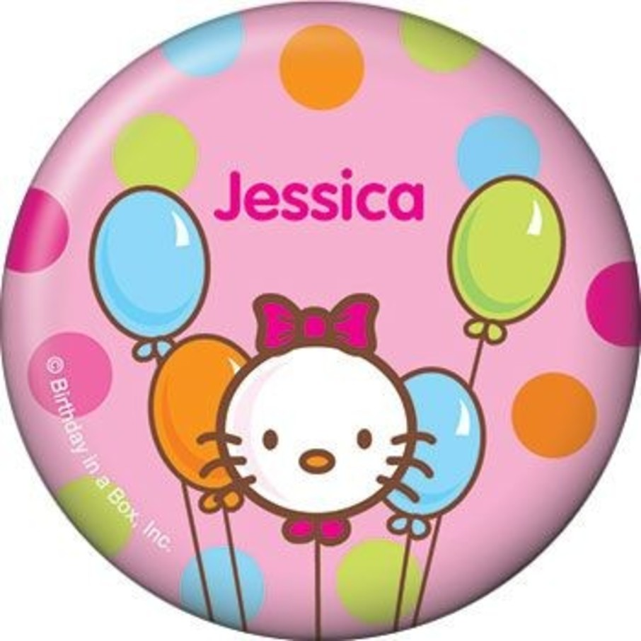 View larger image of Kitty Personalized Button (each)