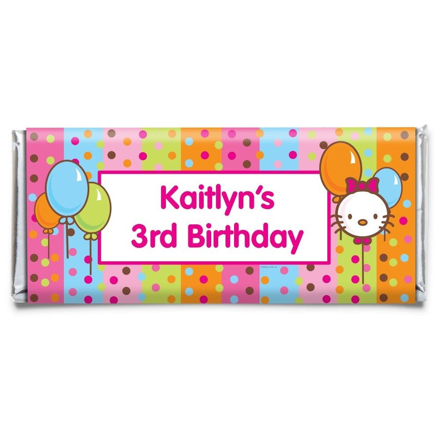 View larger image of Kitty Personalized Candy Bar Wrapper (Each)