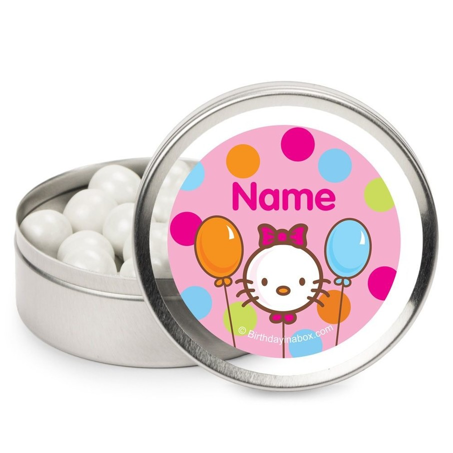 View larger image of Kitty Personalized Candy Tins (12 Pack)