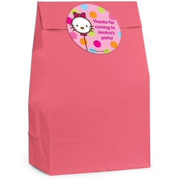 Kitty Personalized Favor Bag (Set Of 12)