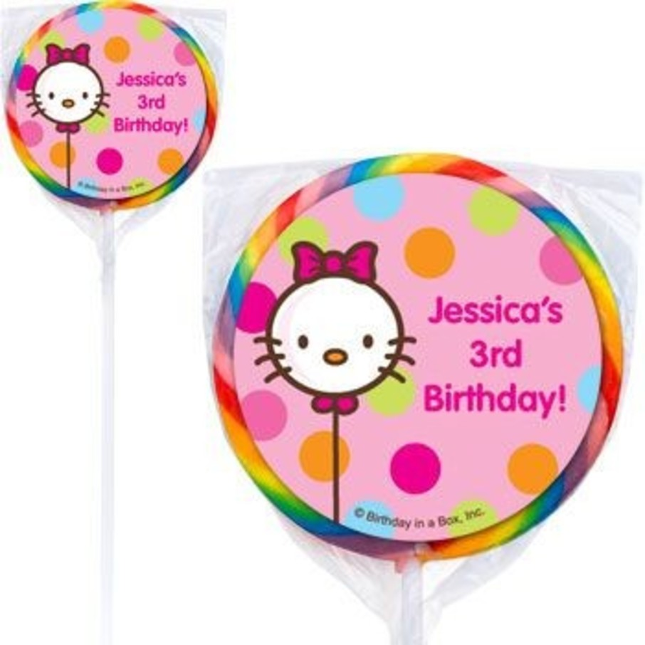 View larger image of Kitty Personalized Lollipops (pack of 12)