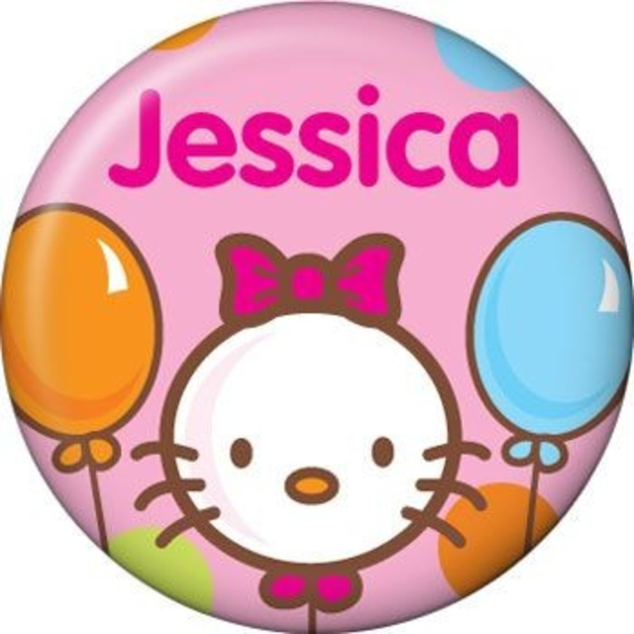 View larger image of Kitty Personalized Mini Button (each)