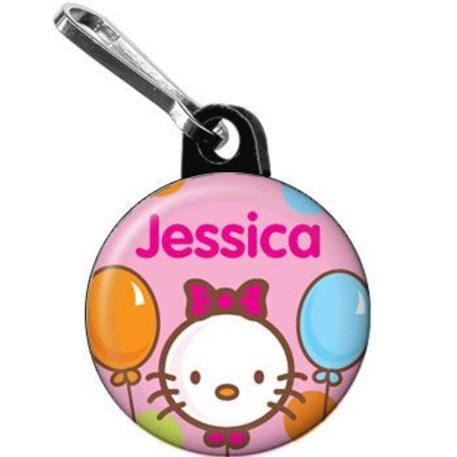 View larger image of Kitty Personalized Mini Zipper Pull (each)