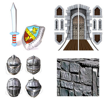 Knight Inflatable Prop Kit