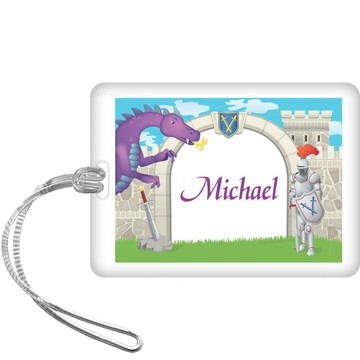 Knight Personalized Bag Tag (each)