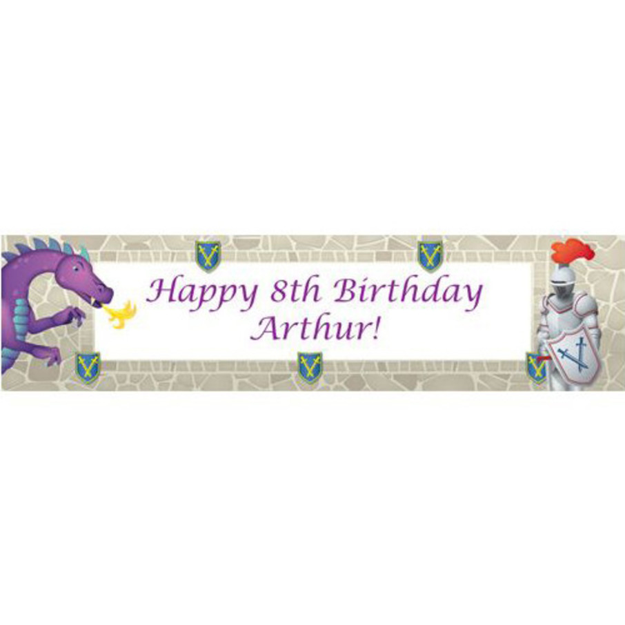 View larger image of Knight Personalized Banner (each)