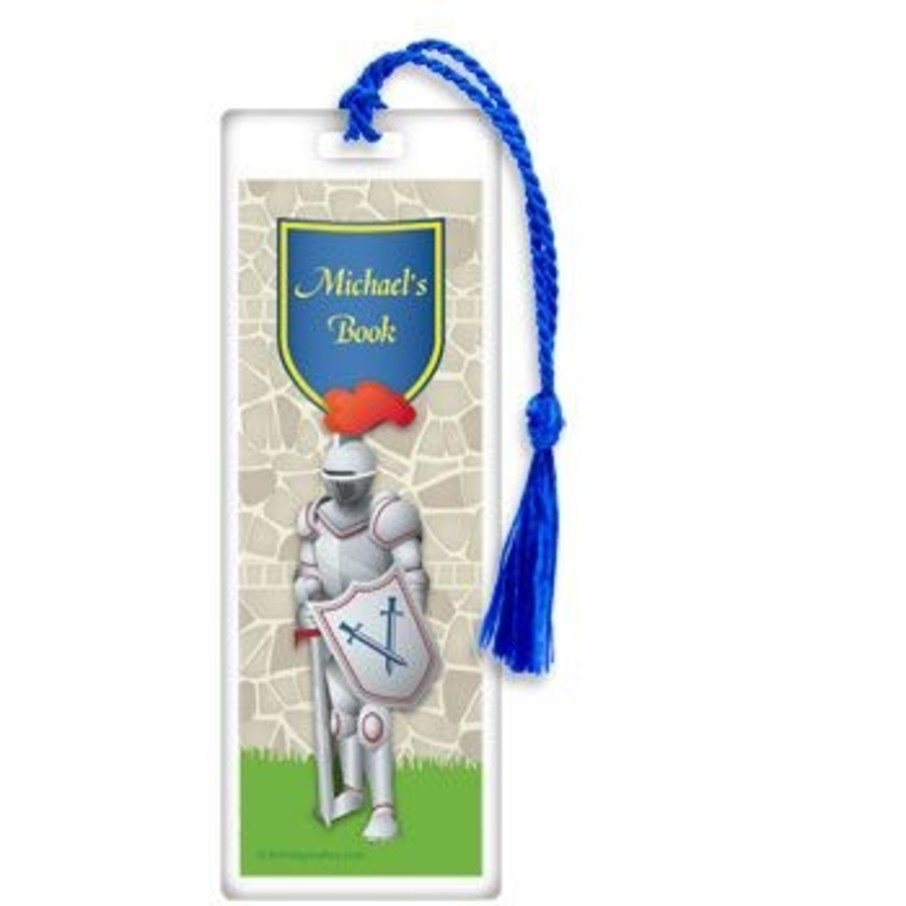 View larger image of Knight Personalized Bookmark (each)