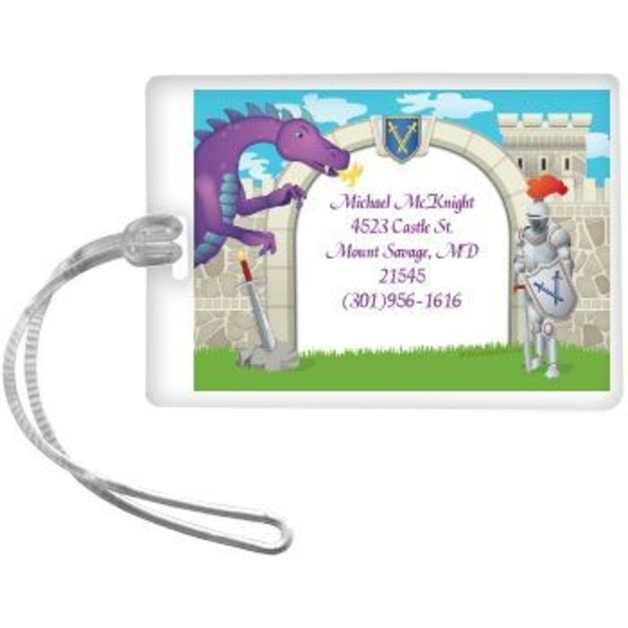 View larger image of Knight Personalized Luggage Tag (each)