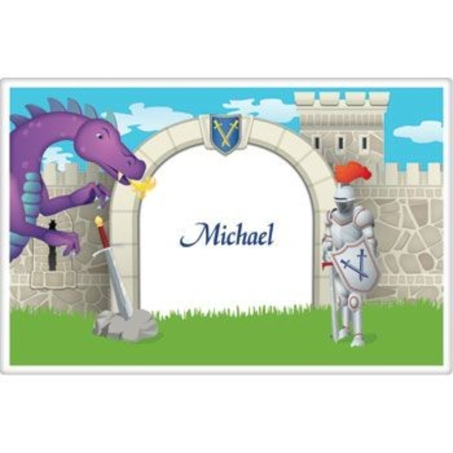 View larger image of Knight Personalized Placemat (each)