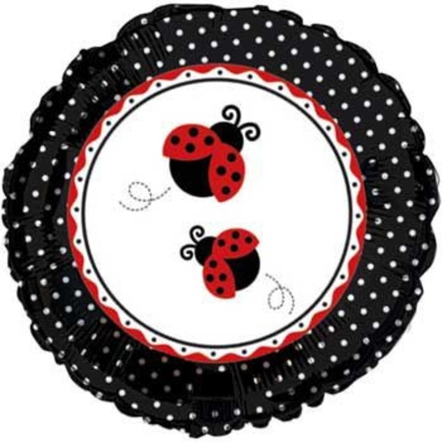 View larger image of Ladybug Party Mylar Balloon (each)