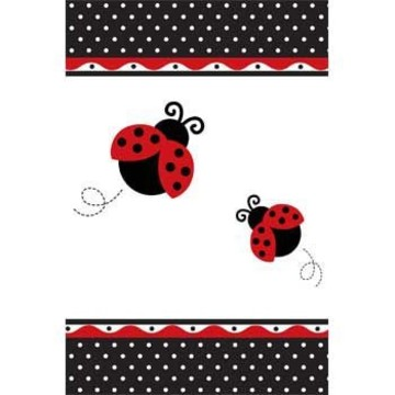 Ladybug Party Table Cover (each)